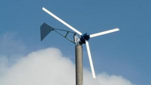 Kleinwindanlage Montana in Bewegung